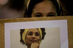Protest po vraždě Marielle Francové