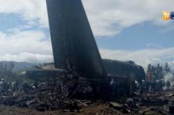 Nehoda letadla v Alžírsku