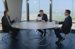 Luděk Niedermayer a Tomáš Holub v OVM