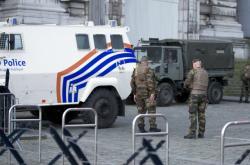 Bezpečnostní opatření během soudního procesu s Abdeslamem v Bruselu
