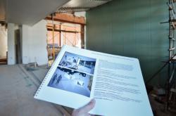 V Turnově pokračují práce na nové přístavbě muzea, kde bude stálá horolezecká expozice