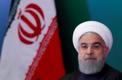 Íránský prezident Hasan Rouhání