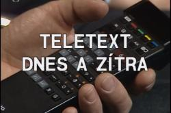 Teletext dnes a zítra
