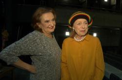 Eva Holubová a Iva Janžurová