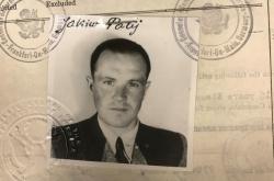Jakiv Palij na snímku z roku 1949