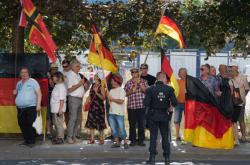 Akce Pegidy v Drážďanech