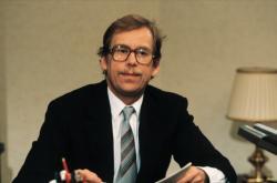 Václav Havel při novoročním projevu, 1990