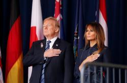 Donald Trump s Melanií v Pensylvánii