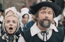 Z filmu Čertí brko / Jana Plodková a Marek Daniel