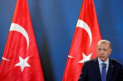 Turecký prezident Recep Tayyip Erdogan během návštěvy Maďarska