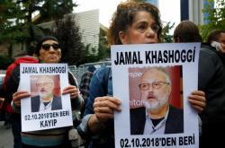 Protest na podporu novináře Chášakžího