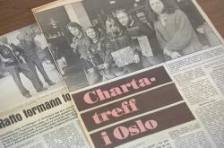 Charta 77 v norském tisku