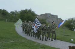"""Záběr z dokumentu """"Až přijde válka"""" režiséra Jana Geberta"""