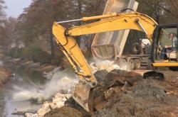 Baťův kanál prochází opravami