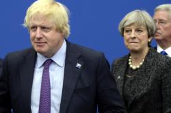 Boris Johnson a Theresa Mayová