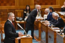 Senátor Václav Hampl (za KDU-ČSL)