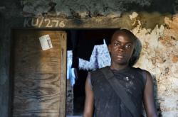 Jeden z obyvatel Tanzanie