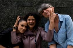 Lenka Dusilová, Iva Bittová, a Monika Načeva