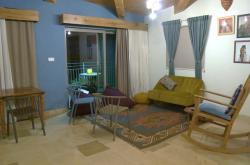 Ubytování v jedné z osad na Západním břehu