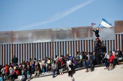 Davy migrantů na mexiko-americké hranici