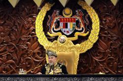 Malajsijský sultán Muhammad V.