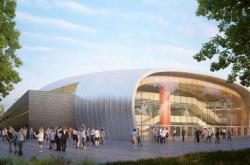 Multifunkční centrum Dlouhá louka v Českých Budějovicích (architektonická studie)