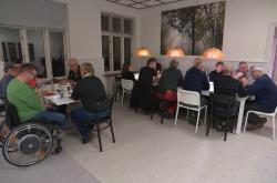 Dánská kavárna pro veterány
