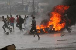 Protest v Zimbabwe