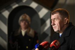 Premiér Andrej Babiš po jednání s prezidentem