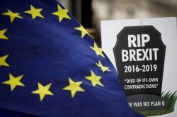 Protest odpůrců brexitu