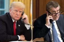 Donald Trump a Andrej Babiš
