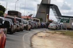 Zácpa na venezuelsko-brazilské hranici