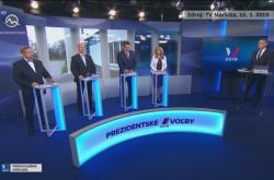 Debata slovenských prezidentských kandidátů