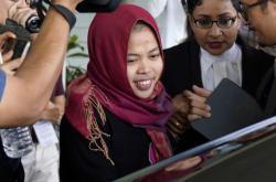 Propuštěná Indonésanka Siti Aisyahová
