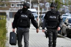 Policie v ulicích Utrechtu