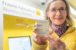 Levnější jízdné pro ženy v Berlíně