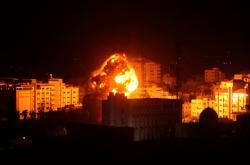 Izraelský úder v Gaze