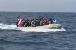 Migranti v Alboránském moři