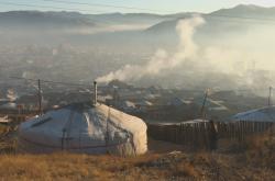 Znečištění v jurtovišti