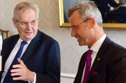 Miloš Zeman a Norbert Hofer
