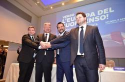 Zástupci nacionalistických a protiimigračních stran se sešli v Miláně