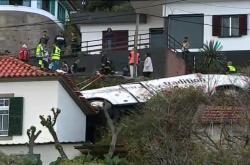 Nehoda autobusu na Madeiře