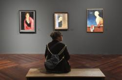 Výstava Josefa Šíma Cesta k Vysoké hře ve Valdštejnské jízdárně v Praze