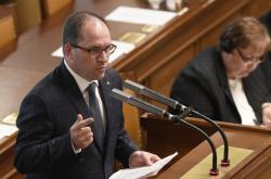 Poslanec a předseda KDU-ČSL Marek Výborný