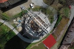 Obnova věže Jakobínka