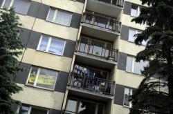 Panelový dům v Chomutově