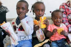 Děti migrantů v Itálii