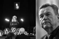 Poslední rozloučení s Václavem Postráneckým