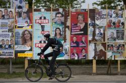 Předvolební kampaň v Belgii