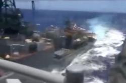 Americká a ruská loď se málem srazily